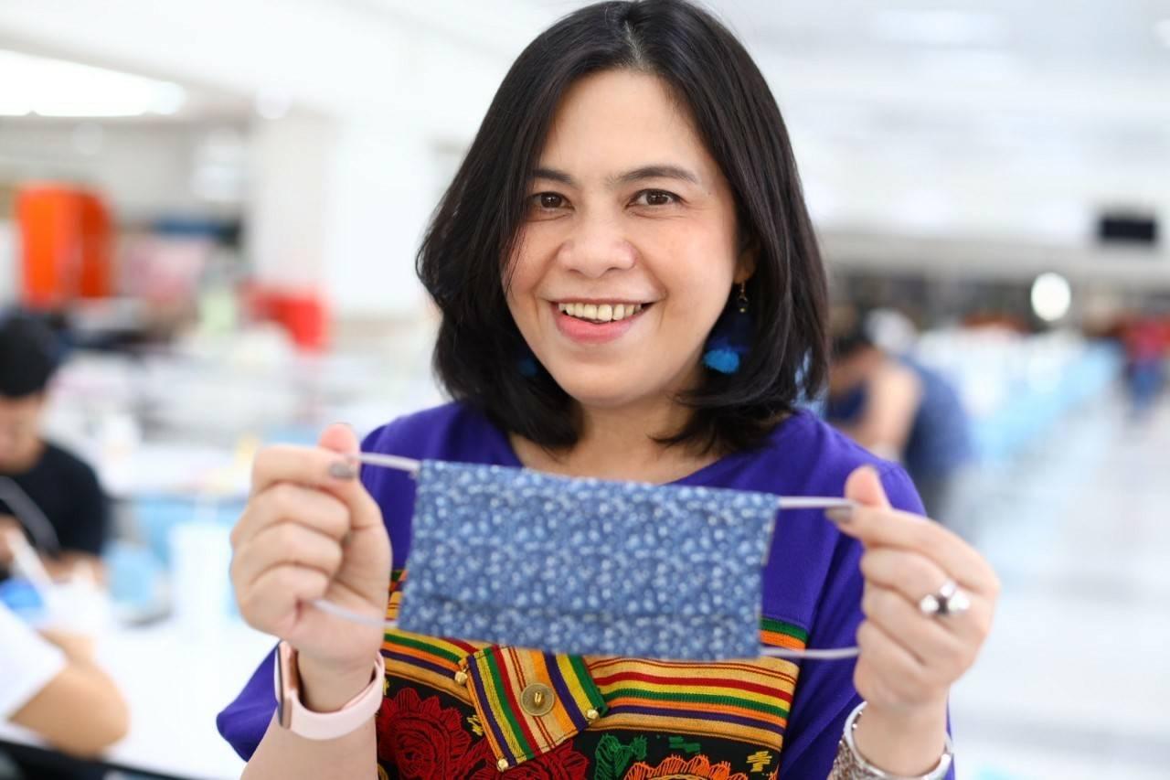 มูลนิธิเอสซีจีชวนเพื่อนพนักงานเอสซีจี เย็บหน้ากากผ้าทำเองใช้เอง